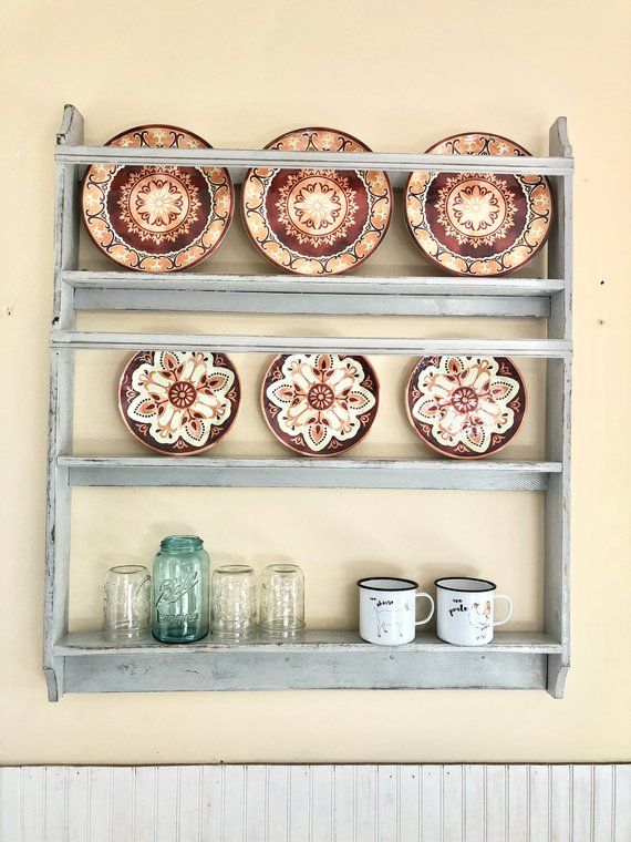 Farmhouse Plate Rack Featured In Country Living Magazine Country