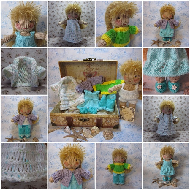 272 Best Knitted Dolls Images On Pinterest Knitted Dolls Knitting