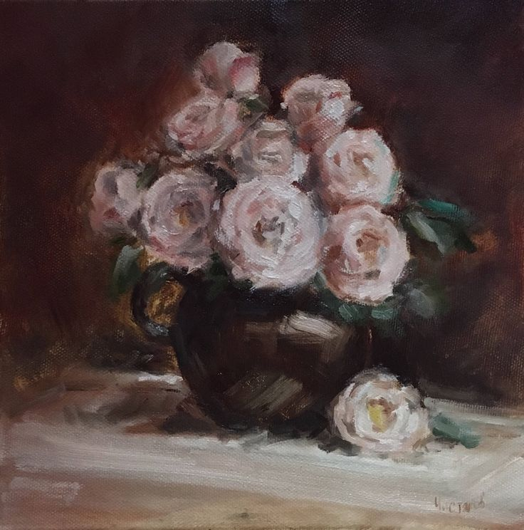A personal favourite from my Etsy shop https://www.etsy.com/listing/534045587/oil-painting-on-canvas-flowers-artwork