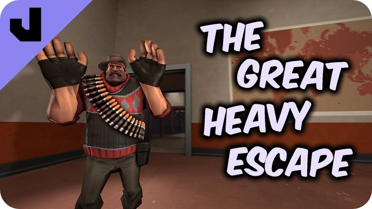 The Great Heavy Escape (TF2 Clip) #games #teamfortress2 #steam #tf2 #SteamNewRelease #gaming #Valve