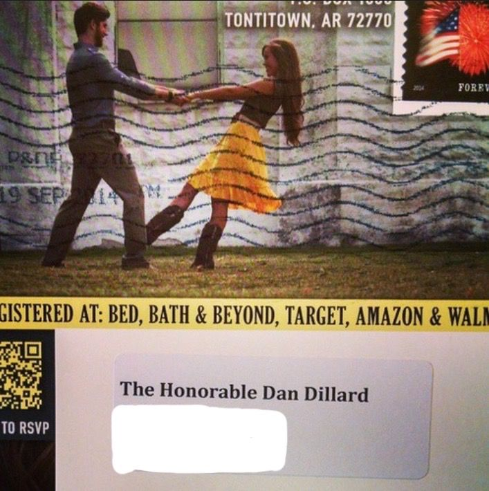 Ben And Jessau0027s Wedding Invitation! #19Kids | Duggars And Bates | Pinterest  | Duggar Family, 19 Kids And Dugger Family