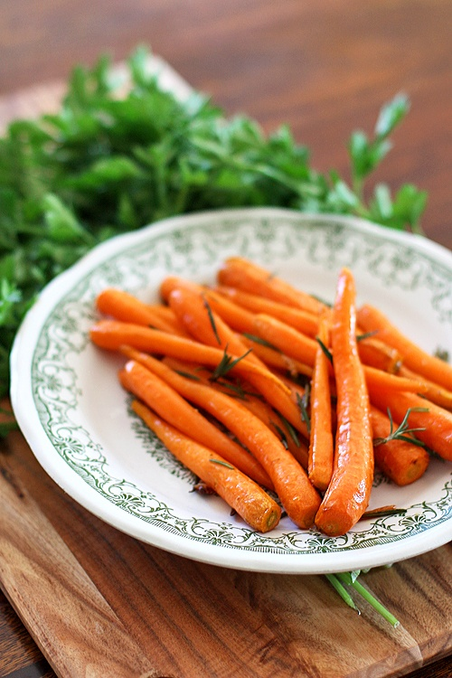 Roasted carrots | Recipes Ready to Grab | Pinterest