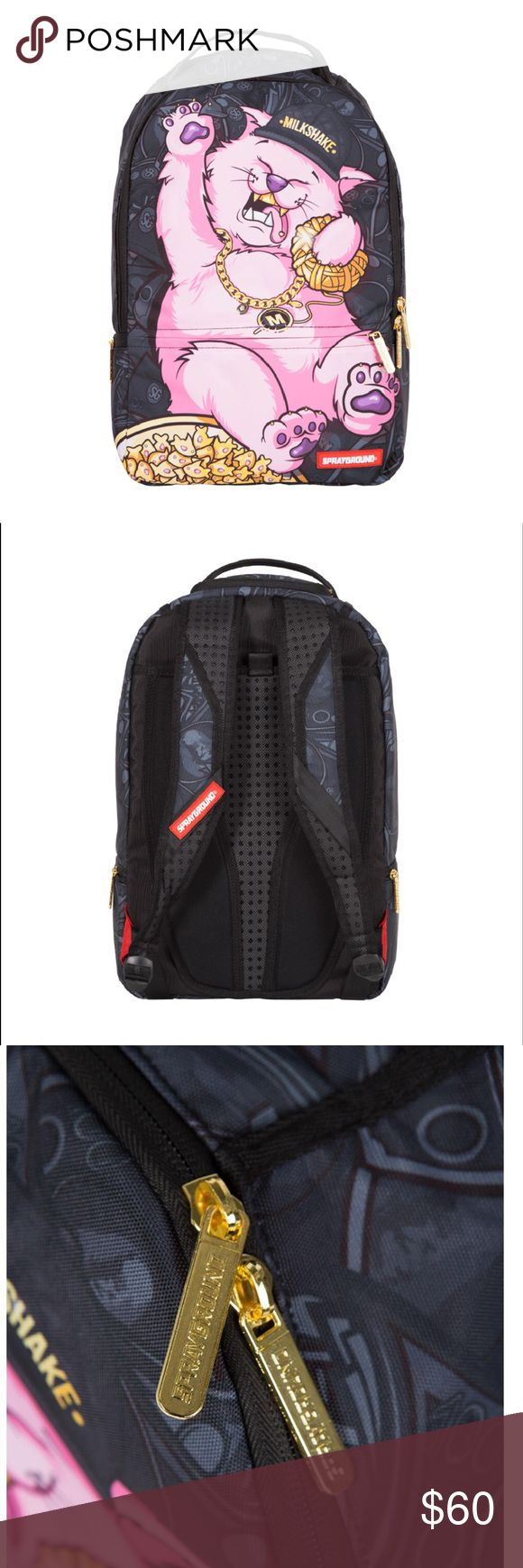 """Spray Ground """"KITTEN LIFE"""" BackPack, NWT. Spray Ground """"KITTEN LIFE"""" BackPack, NWT. Out before release, originally priced at $120.00. Spray Ground Bags Backpacks"""