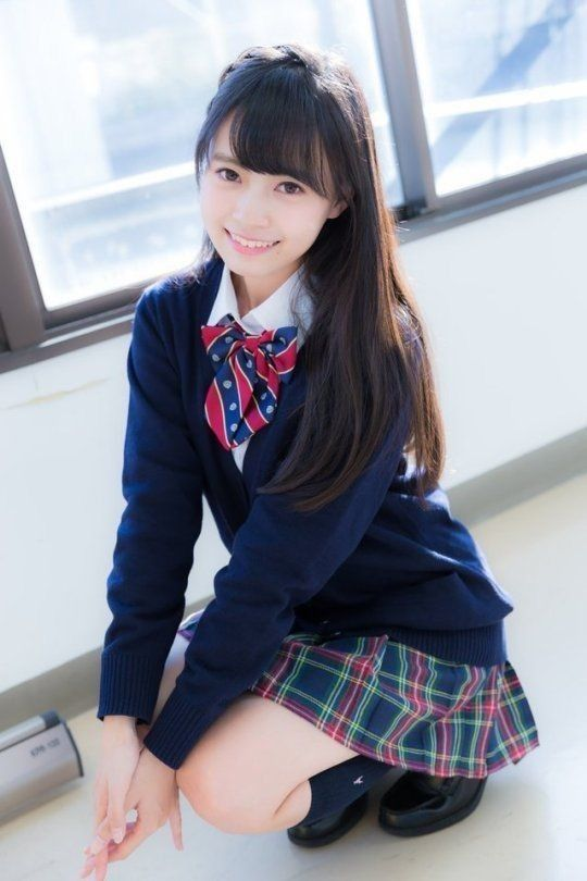 Young japanese school girl — photo 7