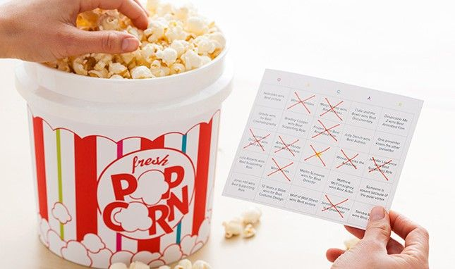 Pimp Out Your Oscars Party With 2 Fun, Free Printables!