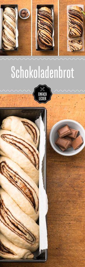 """Euer Vorsatz für's neue Jahr heißt """"Schoki-Verzicht""""? Pssst: Mit diesem Rezept versteckt ihr sie easy-peasy im Brot. #schokolade"""
