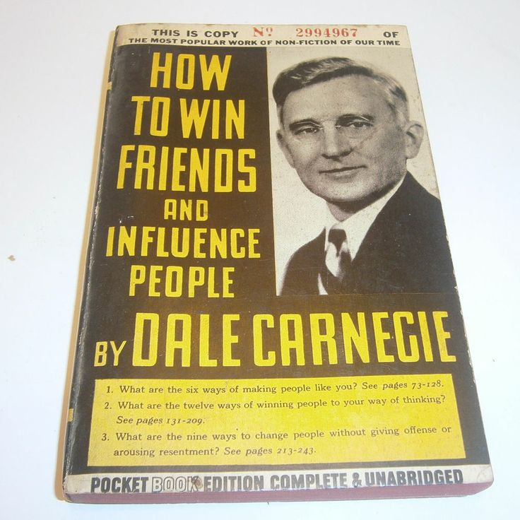 how to win friends and influence people 1936 edition