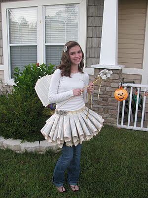 Another blogger tries the book fairy costume. I am going to see if I can pull it off this year!