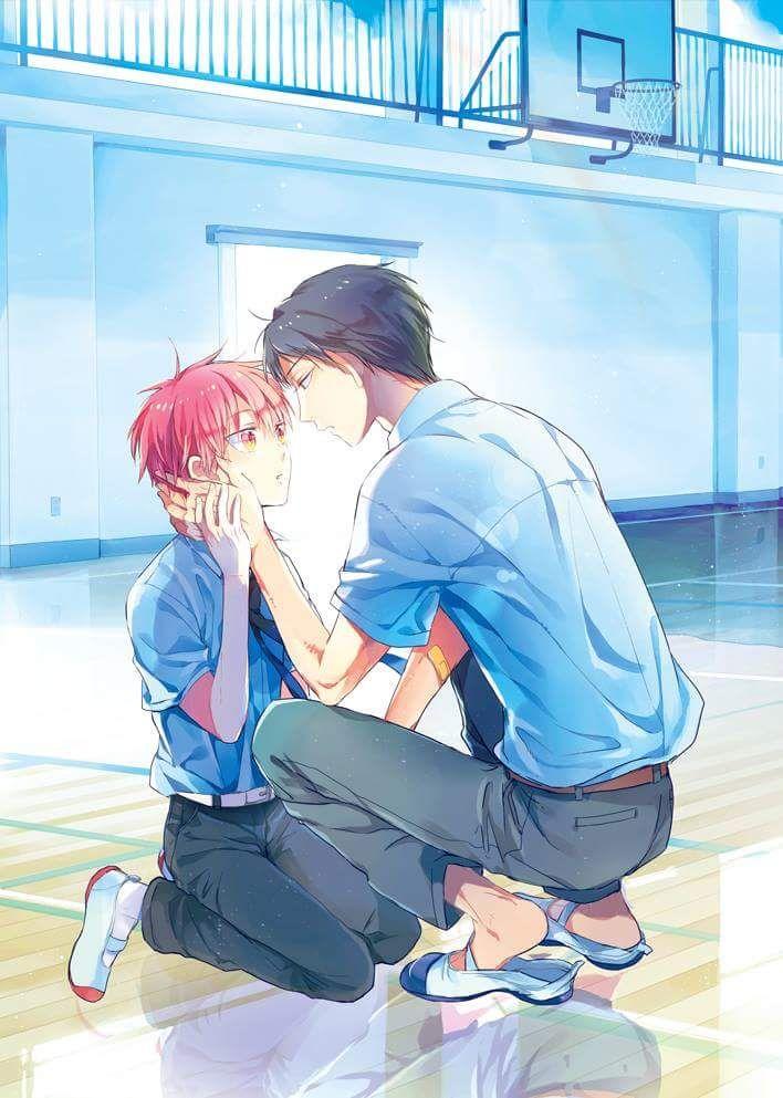 Akashi so tiny so uke ><  #NijiAka #KurokoNoBasket @fujoshiotaku18