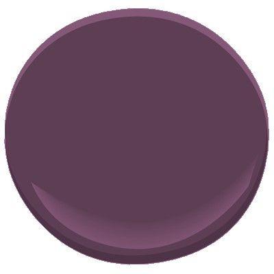 Benjamin Moore autumn purple 2073-20