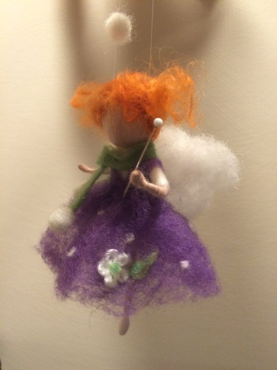 Needle felted fairy Waldorf inspired Art doll Autumn by DreamsLab3