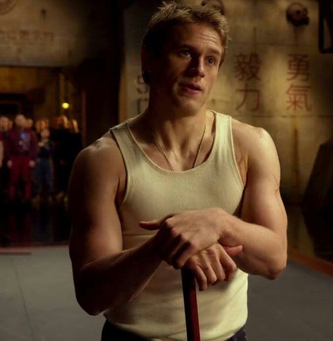 Charlie Hunnam's 'Fifty Shades' workout may include martial arts