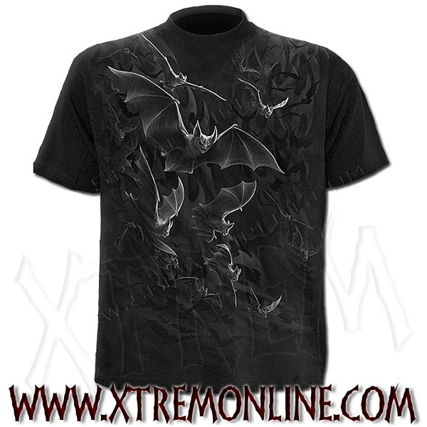 Camiseta de Manga Corta - Bat Wrap.