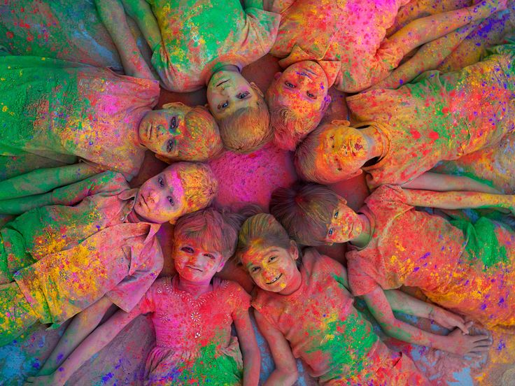Colors of Holi, Jodhpur, India