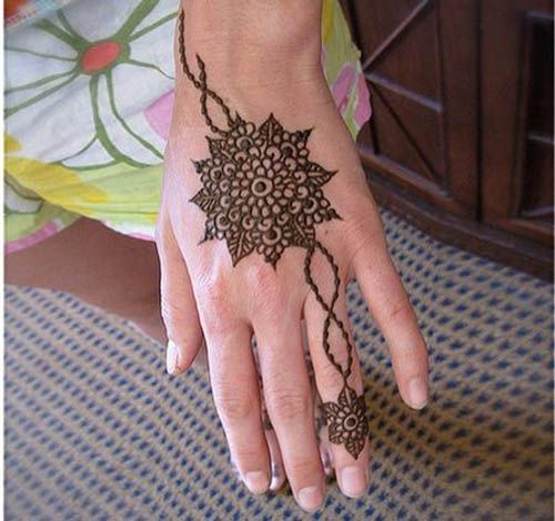9 Cute and Easy Round Mehandi Designs with Pictures | Styles At Life
