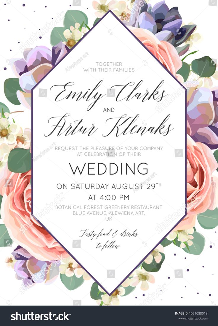 609 Best Wedding Invitations Illustrations Images On Pinterest