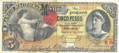 Estos podrían ser los 11 billetes más hermosos en la historia de México -Más de MX