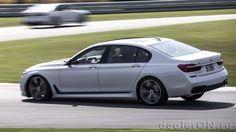 Седан BMW 7-серии / БМВ 7-серия – вид сбоку