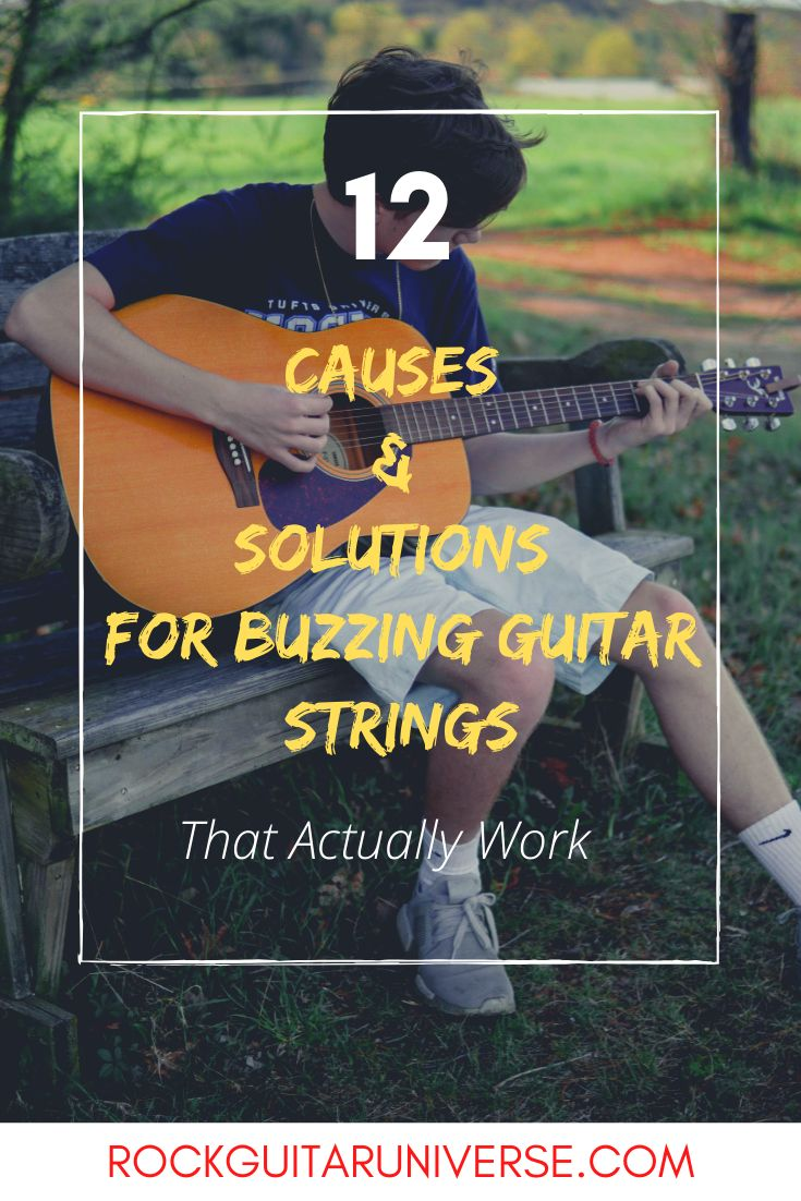 how to fix a guitar string that buzzes