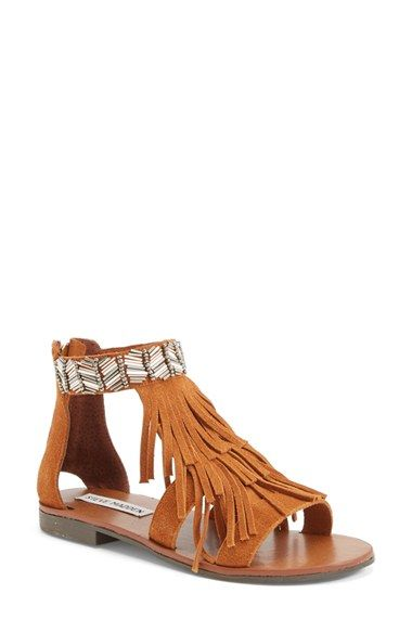 Steve Madden 'Giaani' Suede Sandal (Women) available at #Nordstrom