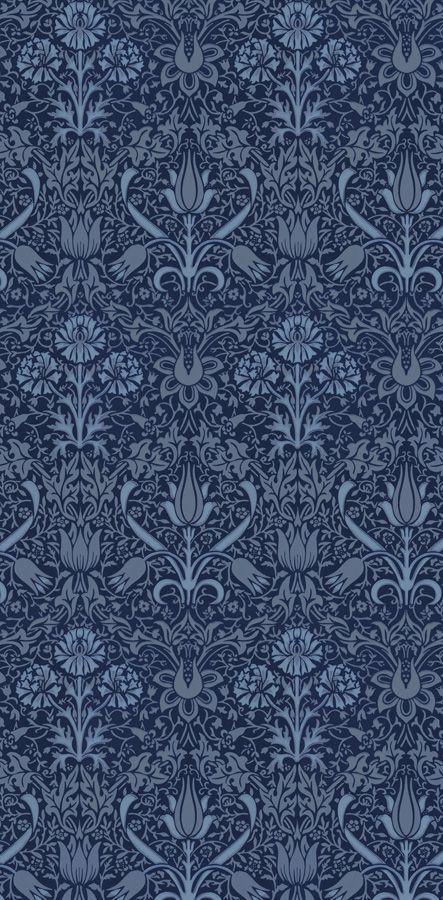 Florian Mörkblå/Blå från Lim & Handtryck