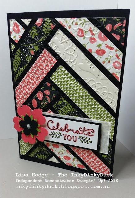 The InkyDinkyDuck - Lisa Hodge Stampin' Up!®️ Australia: More Paper Scrap Cards