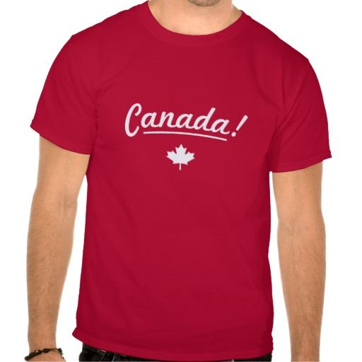 Rock your nation t-shirt - Canada! - Be proud to express love for your country. This one is dedicated to the wonderful country of Canada! Minimal but stylish effect thanks to the simple, informal, intriguing fonts.