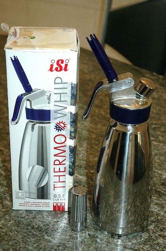 Utilisation du siphon, conseils et recettes