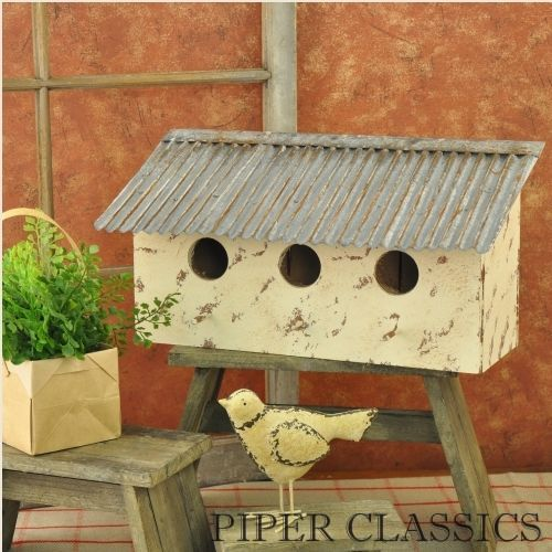 Tin Roof Birdhouse