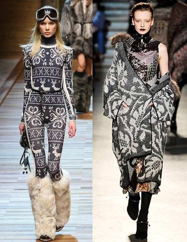 Scandinavian Warming Trends D G Missoni Milan Fashion Week Autumn Winter 2010 2011 Rwt