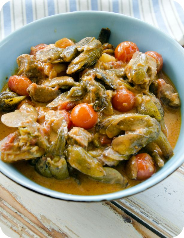 waterblommetjies, south african stew