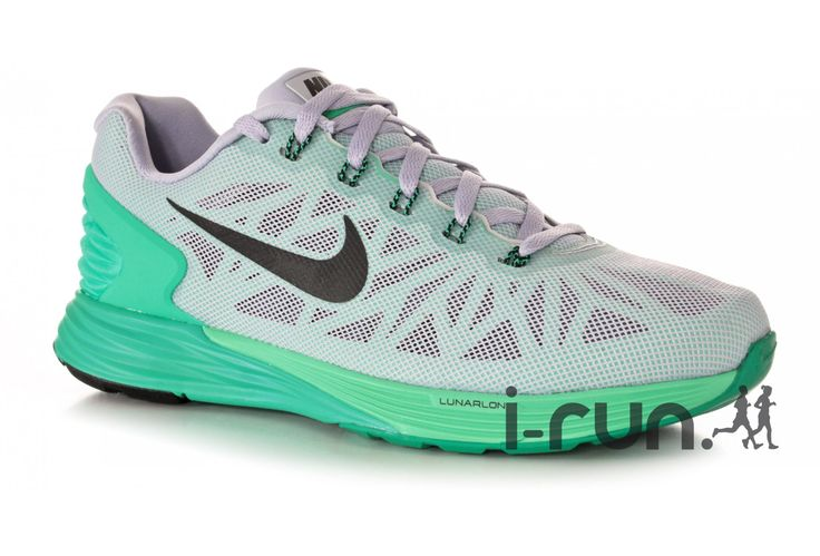 Nike Lunarglide 6 W pas cher - Chaussures running femme running Route & chemin en promo