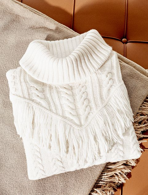Joie Sunday Girl sweater pick: The Viviam Sweater in Chalk