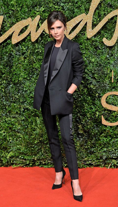 What: Victoria Beckham Where: 2015 British Fashion Awards