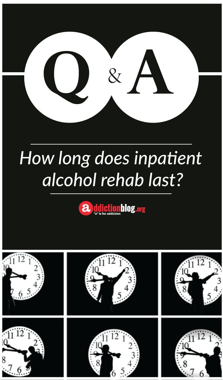 what is inpatient alcohol treatment like