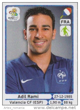 Adil Rami Stickers Panini Euro 2012 UEFA