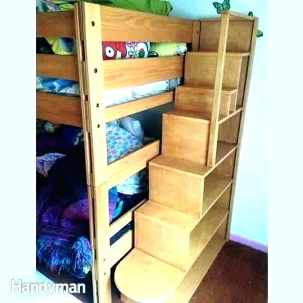 Image Result For Bunk Bed Ladder Ideas Bunk Beds Diy Bunk Bed Bunk Bed Plans