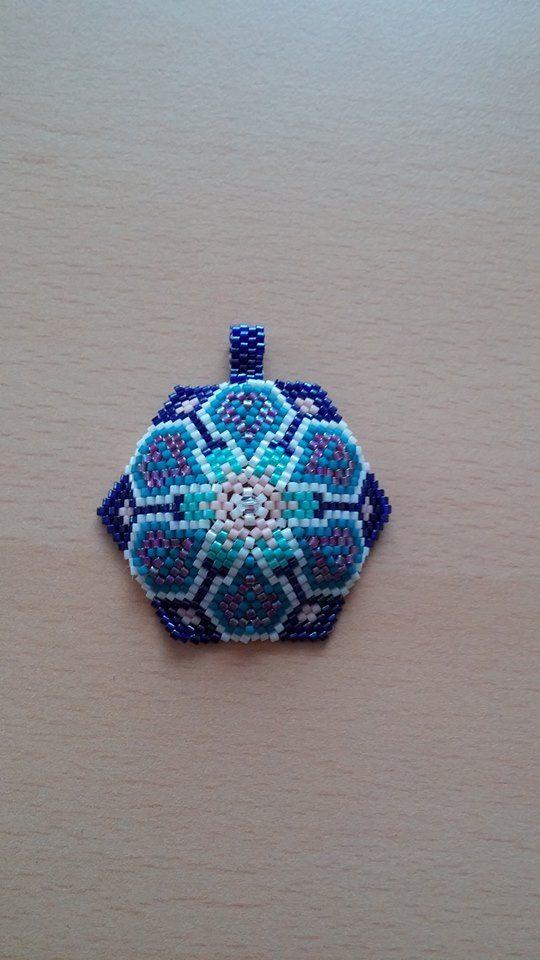 miyuki  pendant