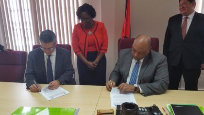 Guyana signs MOUs with Mexico for capacity building in oil industry