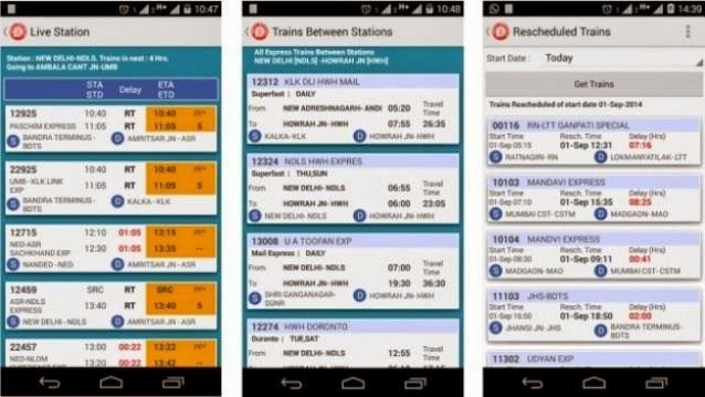 National Train Enquiry System (NTES) app arrives on #Android devices