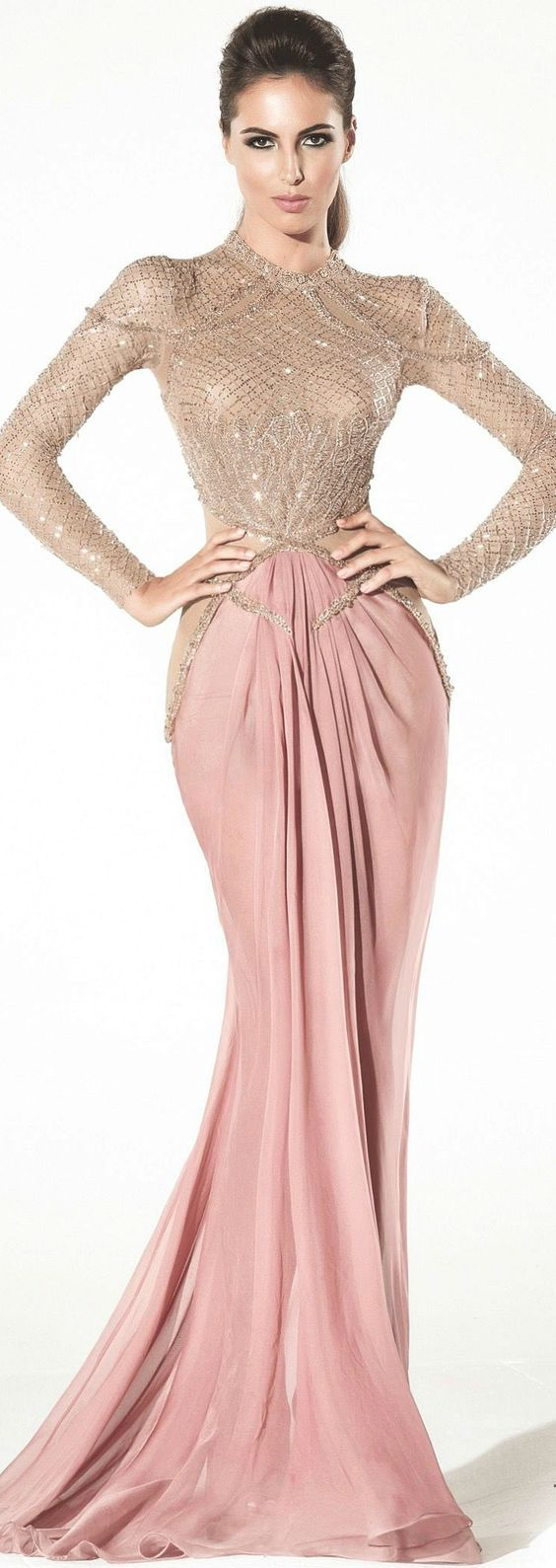 9 best Vestidos images on Pinterest | Ball gown, Evening gowns and ...
