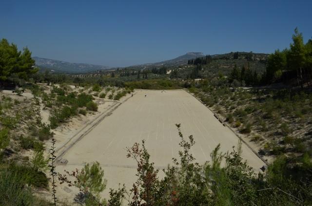 Nemea, the stadium where took place the Nemean games as a tribute to Zeus Nemean