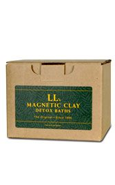 Just amazing to see heavy metals, chemicals and other toxins literally pulled from the skin with the magnetic charge of clays. The clays have a negative charge while most toxins have a positive. A great way to lighten your body's load and detox... a relaxing bath.