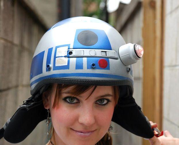 DIY Star Wars R2D2 Helmet