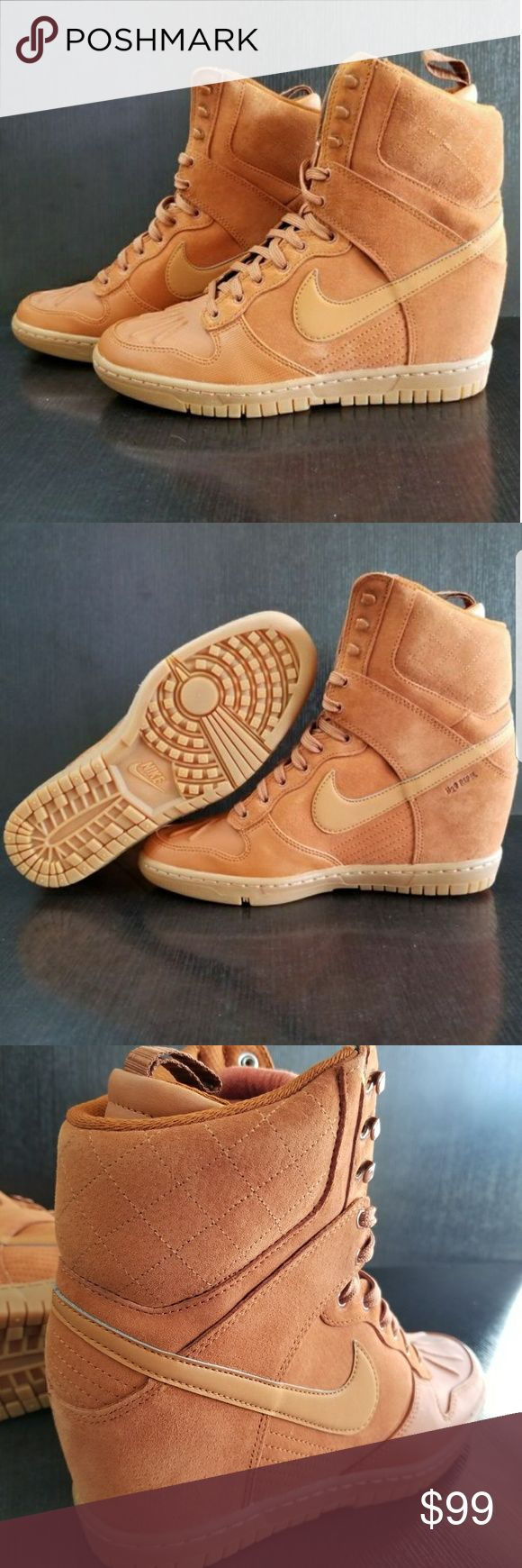 Nike Dunk Sky Hi Sneakerboot Brand new size 8.5 Nike Shoes Lace Up Boots
