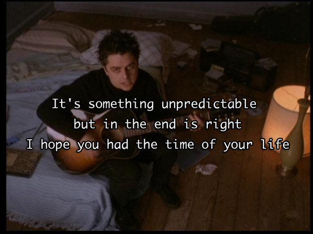 """Good Riddance (Time Of Your Life)"" — Green Day 