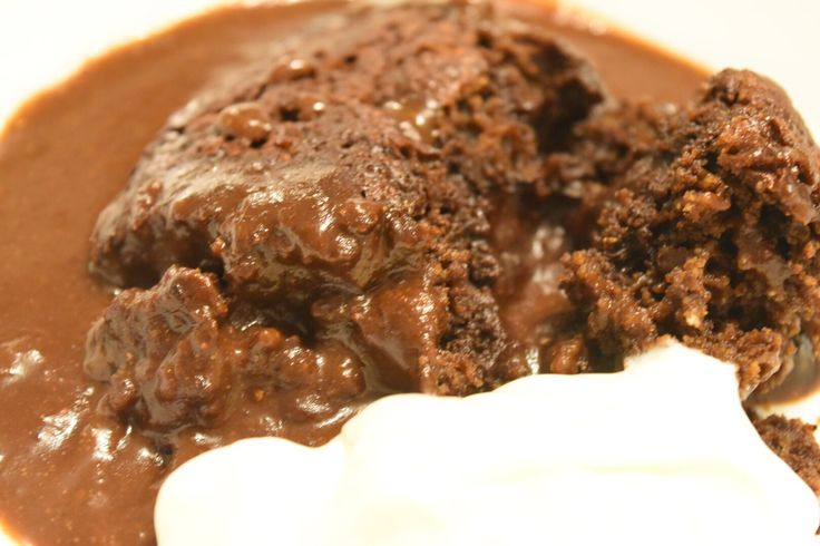 Thermobexta's Chocolate Self Saucing Pudding