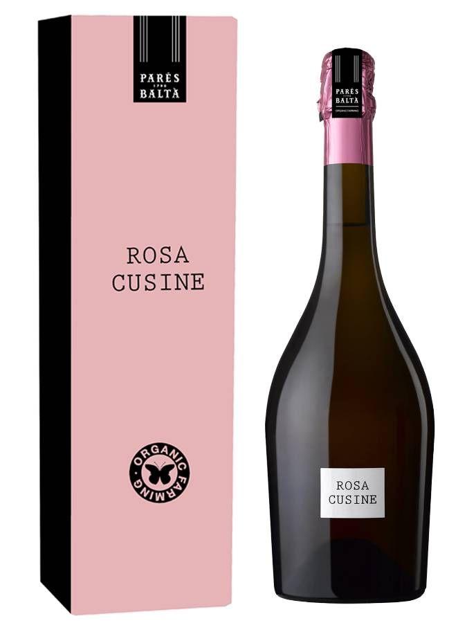 #packaging #cava Bodegas Parés Baltà sorprende con un nuevo cava rosado bio