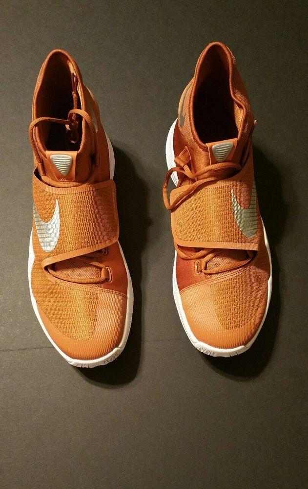 0b653d88321 Nike Men s Zoom Hyperrev 2016 TB Burnt Orange Texas Longhorns Basketball  Size 15