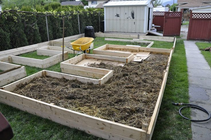 This post: Norm's design for a raised-bed, lasagna-type backyard garden  that's easy to build and will cram your kitchen with veggies this summer.